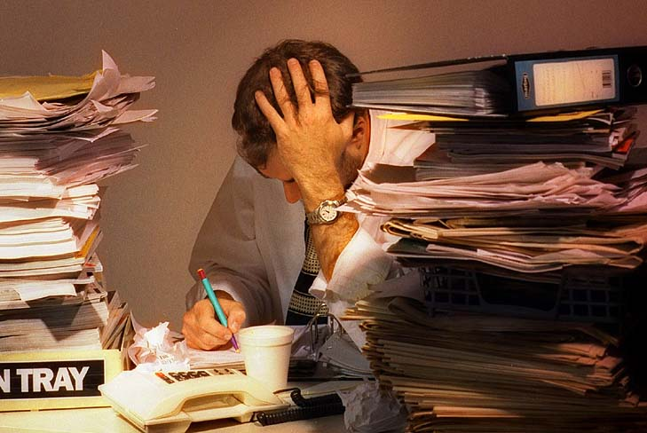 Study: those who worked 11 hours or more a day were 67 per cent more likely to have a heart attack than those with fewer hours.